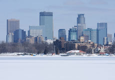 Città di Minneapolis Immagini Stock Libere da Diritti