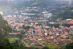 Città di Misty Brazilian Immagini Stock