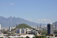 Città di Monterrey Fotografia Stock Libera da Diritti