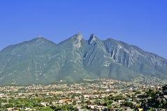 Città di Monterrey Fotografia Stock