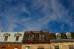 Città di Montreal fotografia stock libera da diritti