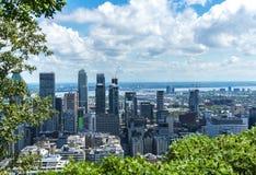 Città di Montreal immagini stock libere da diritti