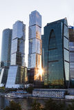 Città di Mosca Fotografia Stock