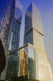 Città di Mosca del centro di affari Fotografia Stock