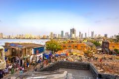 Città di Mumbai, India immagine stock