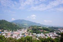 Città di myanmar Fotografia Stock Libera da Diritti