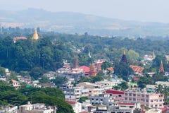 Città di myanmar Immagine Stock Libera da Diritti