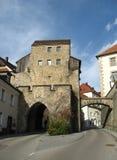 Città di Nabburg in Baviera Fotografia Stock