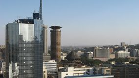 Città di Nairobi Fotografia Stock Libera da Diritti
