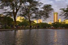 Città di Nairobi Fotografie Stock Libere da Diritti