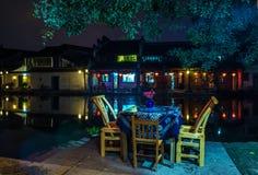 Città di Nanxun fotografia stock