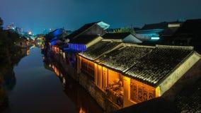 Città di Nanxun fotografie stock