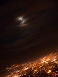 Città di Nitra alla notte Immagini Stock