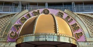 Città di Nizza - casinò di Hotel Le Meridien Immagine Stock Libera da Diritti