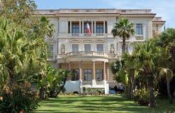 Città di Nizza, Francia - museo Massena Immagini Stock