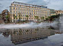 Città di Nizza - grande hotel Aston Immagini Stock Libere da Diritti