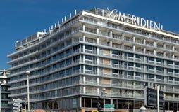 Città di Nizza - Hotel Le Meridien Immagine Stock