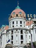 Città di Nizza - hotel Negresco Immagine Stock Libera da Diritti