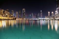 Città di notte. Immagine Stock