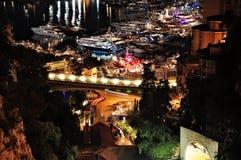 Città di notte. Fotografia Stock