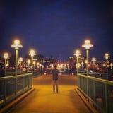 Città di notte Immagine Stock Libera da Diritti