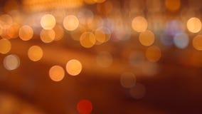 Città di notte dell'automobile 4K 30fps ProRes video d archivio
