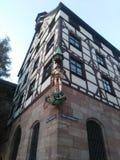 Città di Nurnberg Fotografie Stock