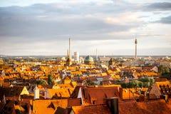 Città di Nurnberg in Germania fotografia stock