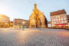 Città di Nurnberg in Germania immagine stock libera da diritti