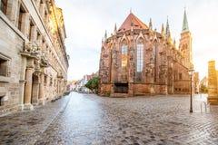 Città di Nurnberg in Germania fotografie stock libere da diritti