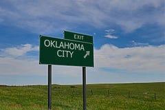 Città di Oklahoma Immagini Stock Libere da Diritti