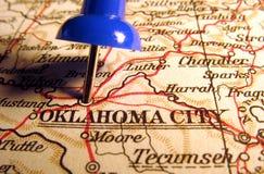 Città di Oklahoma, Oklahoma Fotografia Stock