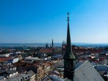 Città di Olomouc immagini stock libere da diritti