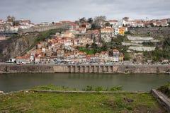 Città di Oporto nel Portogallo Fotografia Stock