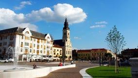 Città di Oradea Immagini Stock Libere da Diritti