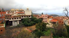 Città di Orotava della La su Tenerife fotografie stock