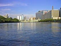 Città di Osaka Fotografia Stock