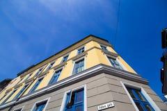 Città di Oslo che costruisce 12 Immagini Stock Libere da Diritti