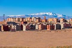 Città di Ouarzazate, Marocco Immagini Stock Libere da Diritti