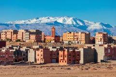 Città di Ouarzazate, Marocco Fotografia Stock Libera da Diritti
