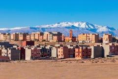 Città di Ouarzazate, Marocco Fotografia Stock