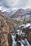 Città di Ouray, Colorado Fotografia Stock Libera da Diritti