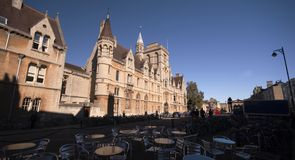 Città di Oxford fotografie stock