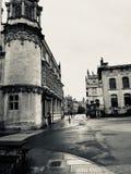 Città di Oxford ed a fondo grigio Fotografia Stock Libera da Diritti