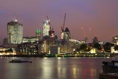 Città di paesaggio urbano di Londra Fotografie Stock Libere da Diritti