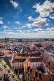 Città di paesaggio urbano di Vienna in Austria Fotografia Stock Libera da Diritti