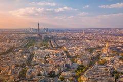 Città di Parigi immagine stock
