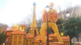 Città di Parigi con il Eiffel& x27; torre di s Fotografia Stock