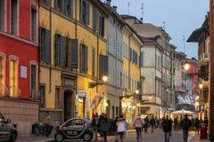 Città di Parma, Emilia Romagna, Italia Fotografia Stock