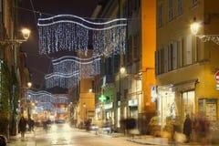 Città di Parma, provincia di Emilia Romagna, Italia Immagini Stock